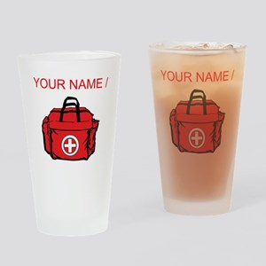 Custom First Aid Kit Drinking Glass