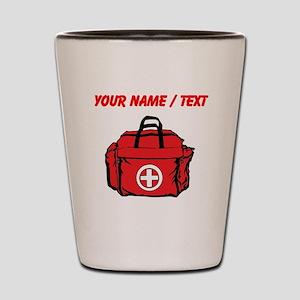 Custom First Aid Kit Shot Glass