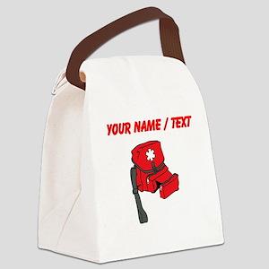 Custom Medical Kit Canvas Lunch Bag