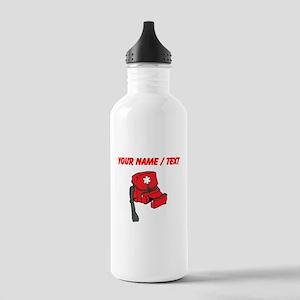 Custom Medical Kit Water Bottle