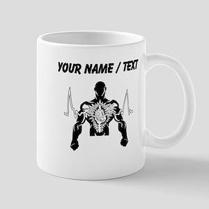 Custom Cardiogram Man Mugs