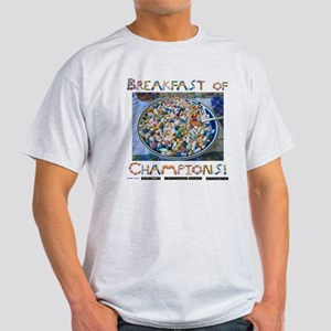 Breakfast of Champs White Light T-Shirt