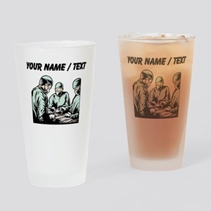 Custom Surgery Drinking Glass