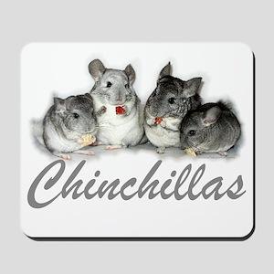 Chinchillas Mousepad