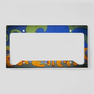 Ocean Wave License Plate Holder