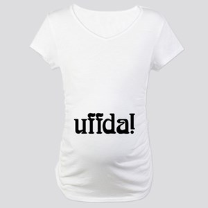 Uffda belly Maternity T-Shirt