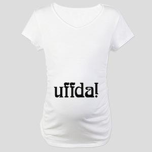Uffda belly Maternity T-Shirt