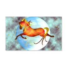 moon horse magnets 2.jpg Wall Decal