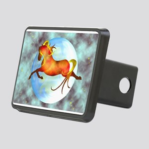 moon horse magnets 2 Hitch Cover