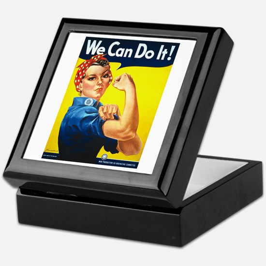 Rosie The Riveter Keepsake Box