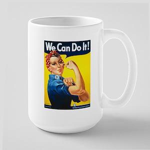 Rosie The Riveter Large Mug