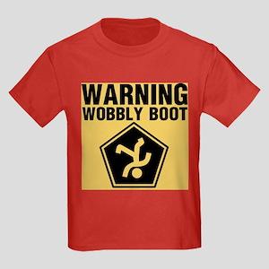 Wobbly Boot Kids Dark T-Shirt
