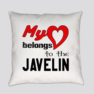 My Heart belongs to the Javelin Everyday Pillow