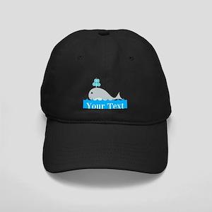 Personalizable Gray Whale Baseball Hat