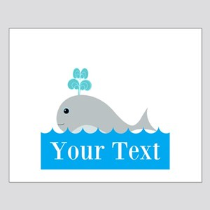 Personalizable Gray Whale Posters