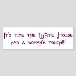 White House Bumper Sticker 2 Bumper Sticker