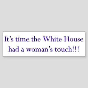 White House Bumper Sticker 3 Bumper Sticker