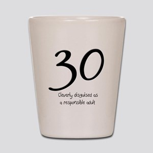 30th Birthday Shot Glass