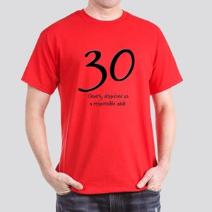 30th Birthday Dark T Shirt