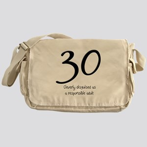30th Birthday Messenger Bag