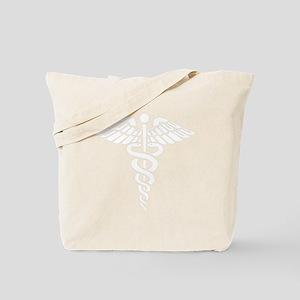 Medical Caduceus Tote Bag