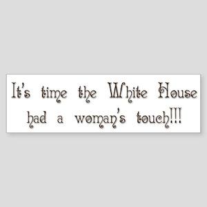 White House Bumper Sticker 4 Bumper Sticker