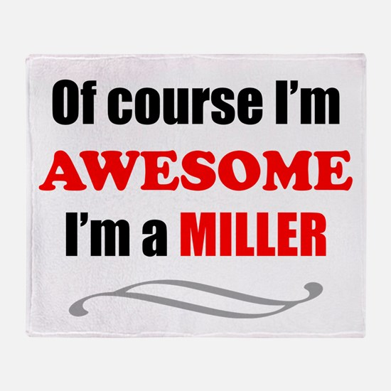Miller Awesome Family Throw Blanket