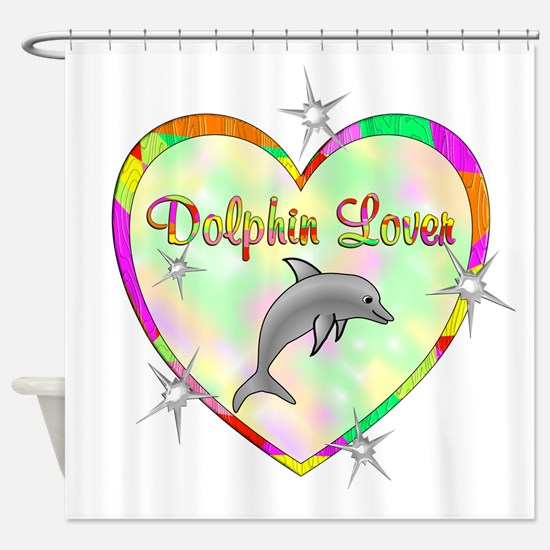 Dolphin Lover Shower Curtain