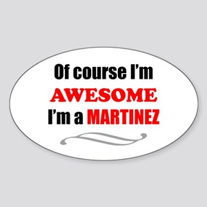 Martinez Awesome Family Sticker