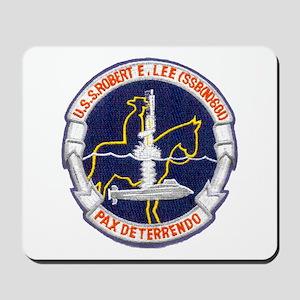 USS ROBERT E. LEE Mousepad