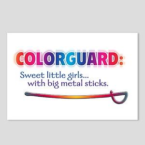 Sweet Girls / Big Metal Sticks Postcards (Package