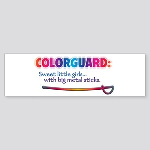 Sweet Girls / Big Metal Sticks Bumper Sticker
