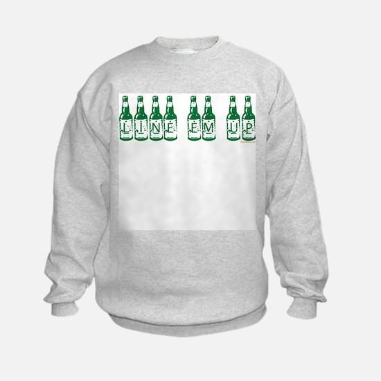 Line Em Up Sweatshirt