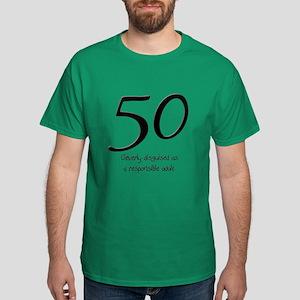 50th Birthday Disguise Dark T-Shirt
