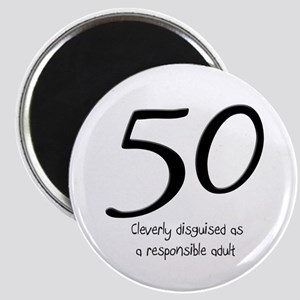 50th Birthday Disguise Magnet