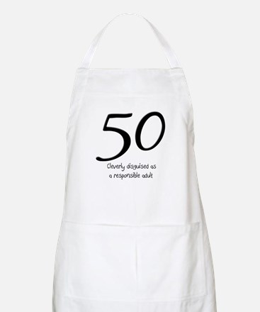 50th Birthday Disguise Apron