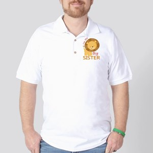 Big Sister Cute Lion Golf Shirt