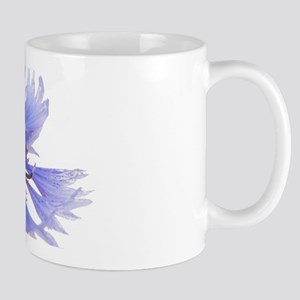 Cornflower on White Mugs