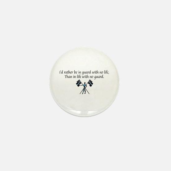 I'd Rather... Mini Button