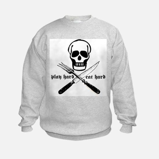 Play Hard Eat Hard Sweatshirt