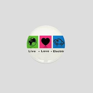 Live Love Electric Mini Button