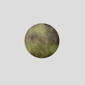 Yellow Black Grunge Tie Dye Mini Button