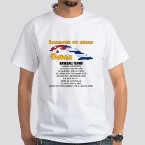 baseball terms White T-Shirt