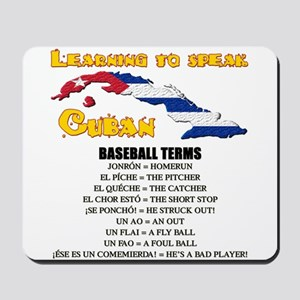 baseball terms Mousepad