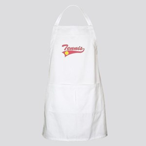 Pink Tennis Lettering BBQ Apron