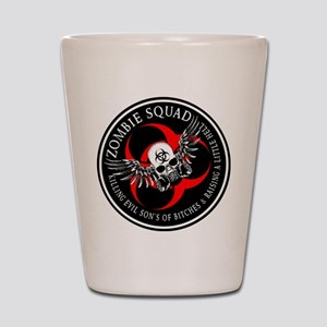 Zombie Squad 3 Ring Patch Revised Shot Glass