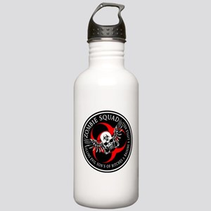Zombie Squad 3 Ring Patch Revised.png Water Bottle