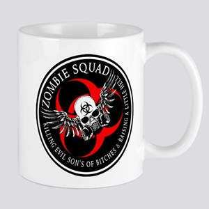 Zombie Squad 3 Ring Patch Revised Mugs