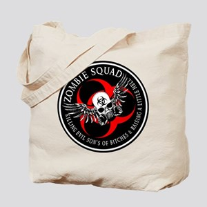 Zombie Squad 3 Ring Patch Revised Tote Bag