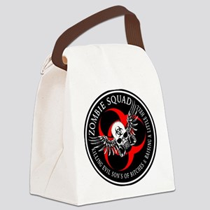 Zombie Squad 3 Ring Patch Revised Canvas Lunch